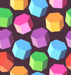 Background multi colored rhombus vector image vector image