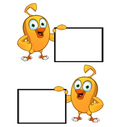Cartoon Chick Board vector image