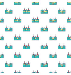 Bouncy castles pattern seamless vector