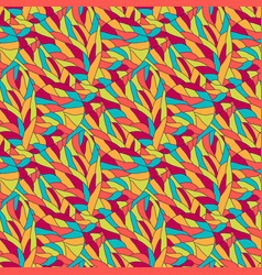 fashion bright pattern wavy seamless background vector image vector image