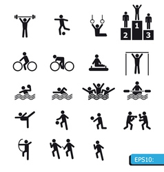 ICON Sports vector image vector image