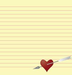 Love latter vector
