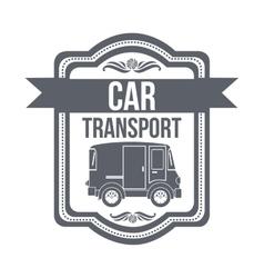 Means of transport design vector