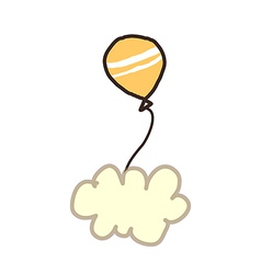 Icon ballon vector