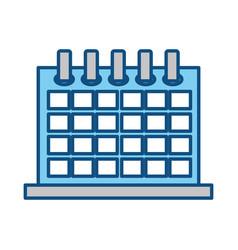 Calendar event schedule vector