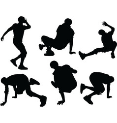 breakdance - vector image