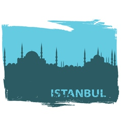 istanbul vector image