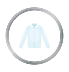 Long sleeve shirt icon of for vector image