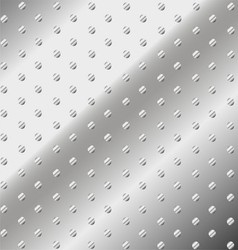 Dotted metal iron texture abstract background vector