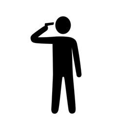 suicide headshot vector image