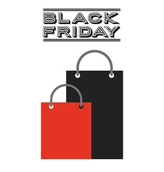 black friday deals vector image