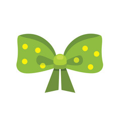 Cartoon cute gift bows with ribbons color vector