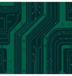 circuit board pcb vector image