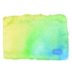 Real watercolor abstract texture vector image