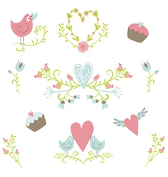 Valentines Day collection 2 vector image vector image