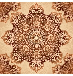 Ornate vintage napkin background vector