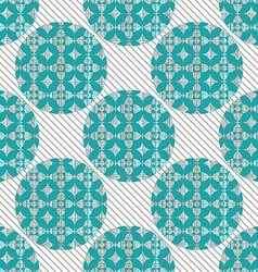 seamless pattern abstract circles vector image
