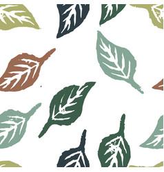 Seamless botanic pattern vector