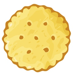 Biscuit cookie cracker vector