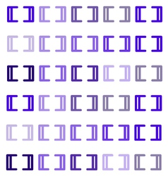 Purple brackets vector