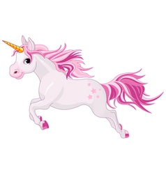 Beautiful unicorn vector