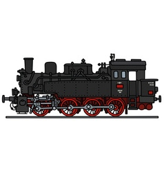 Classic steam locomotive vector