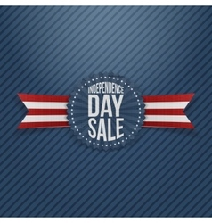 Independence day sale textile tag vector