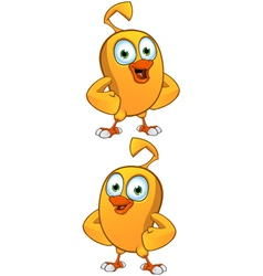 Cartoon Chick vector image