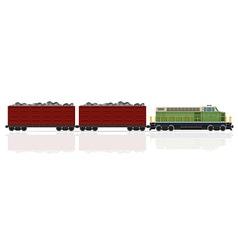 railway train 24 vector image