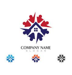 Property logo template vector