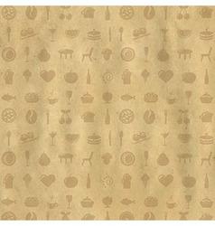 Vintage Restaurant Background vector image