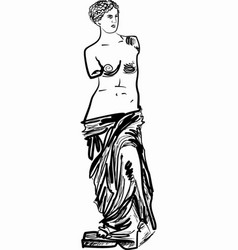 antique venera vector image