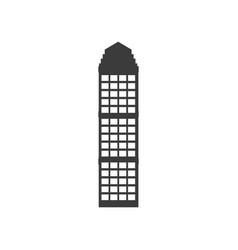 Buiilding facade architecture skyscraper property vector