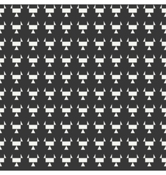 Geometric monochrome abstract hipster seamless vector