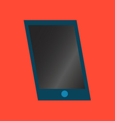 Technology gadget in flat design mobile phone vector