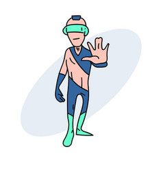 Weird future person vector
