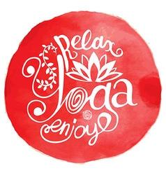 Yoga yog vector