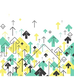 Abstract success arrows up motion up successful vector