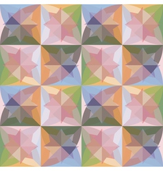 Seamless background with abstract geometric shapes vector