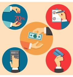 Finance and business vector
