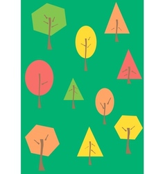 The trees vector