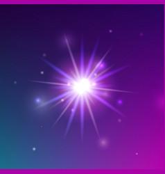 Glowing light shine vector