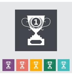 Icon cup vector