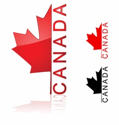 Canada icon vector