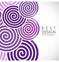Spiral abstract background vector