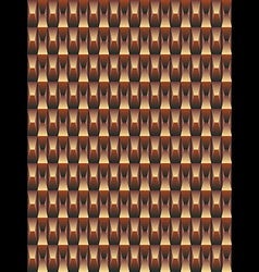 Brown texture geometric seamless background vector image vector image