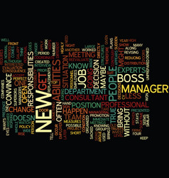 Four signs you might get sacked text background vector