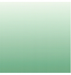 Soft green square grid background vector