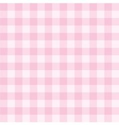 Tile pink plaid decoration background or pattern vector image