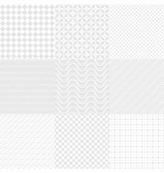 White textures vector